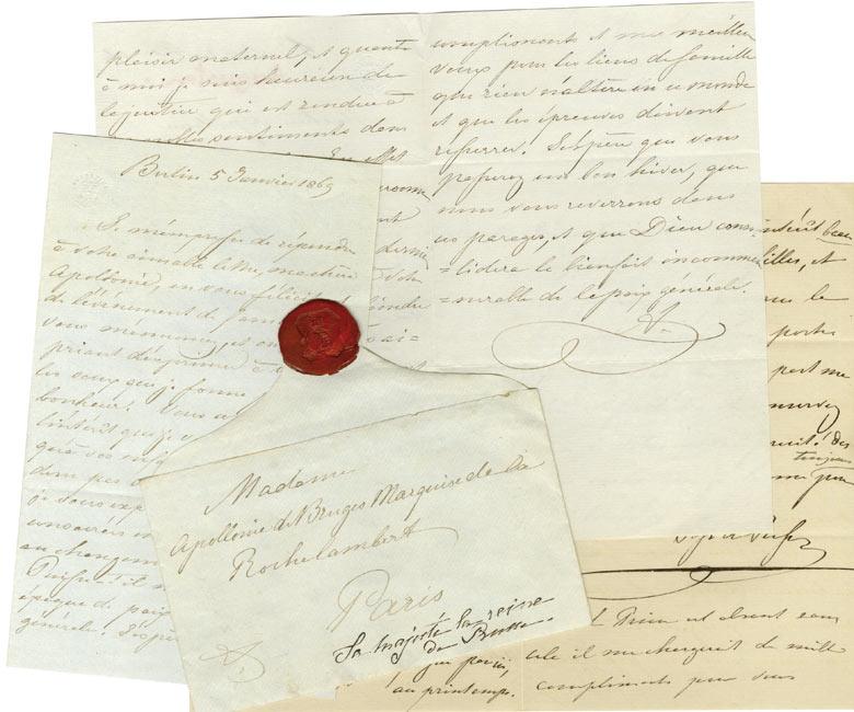 Lettres d'Augusta de Prusse