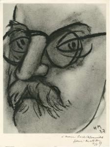 Dédicace de Matisse à Erich Chlomovitch