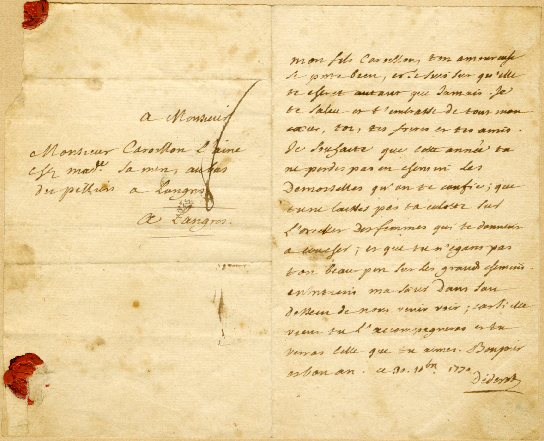 Lettre-DIDEROT