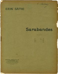 Satie-Sarabande
