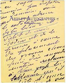 catalogue arts et autographes