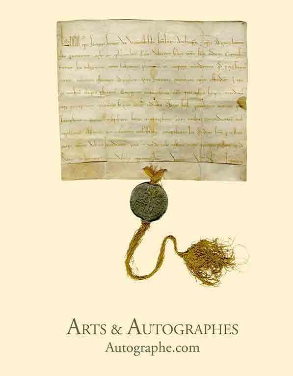 catalogue d'autographes rares