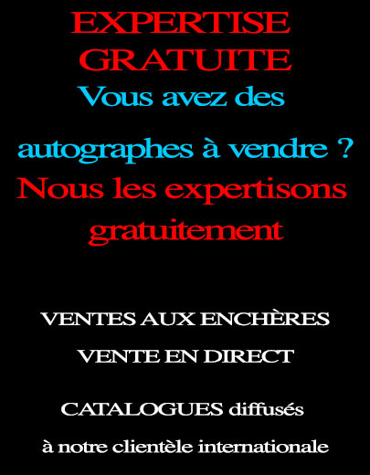 estimationd d'autographe
