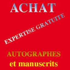 expertise autographes